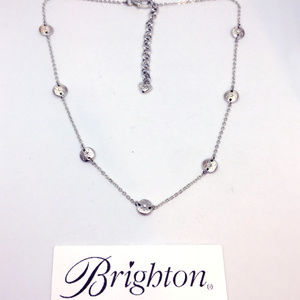 Brighton Butterfly & Crystal Necklace Choker MINT